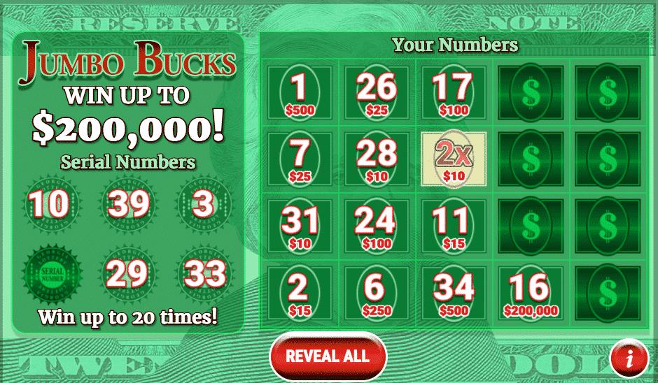 GA Lottery instant win 1
