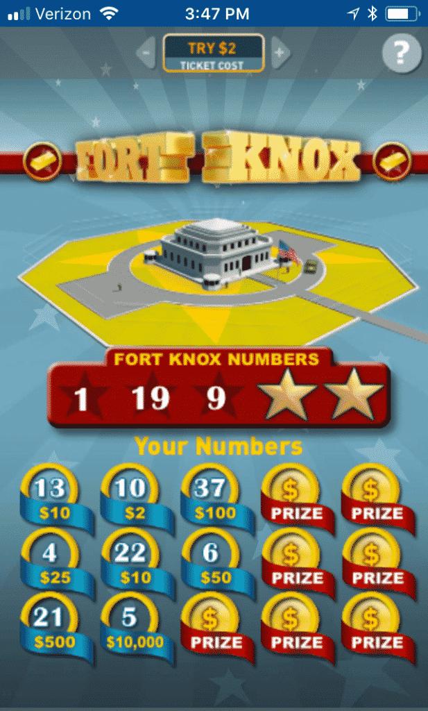 GA Lottery mobile 2