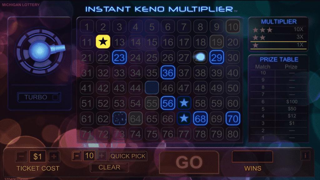 Instant Keno 2