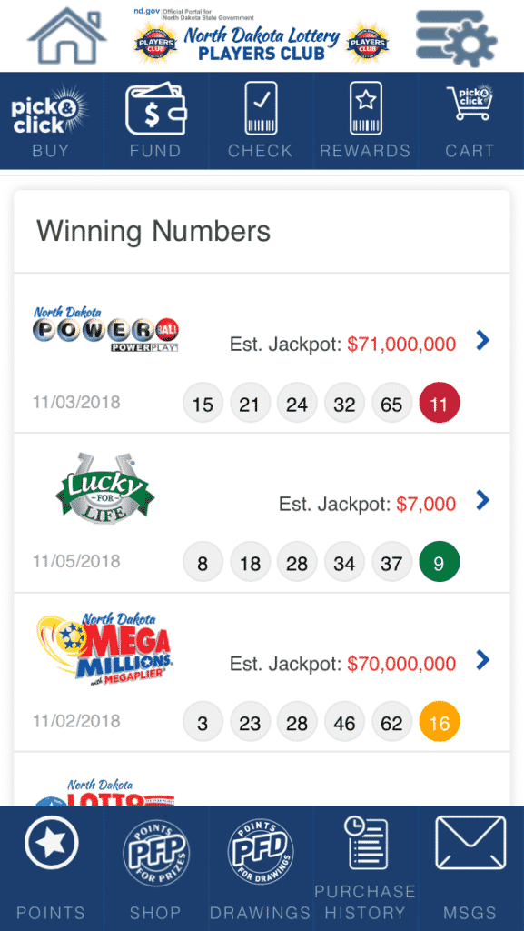 ND Lottery mobile 3
